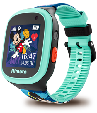 "Aimoto Smart Watch GPS Disney ""Mickey"""