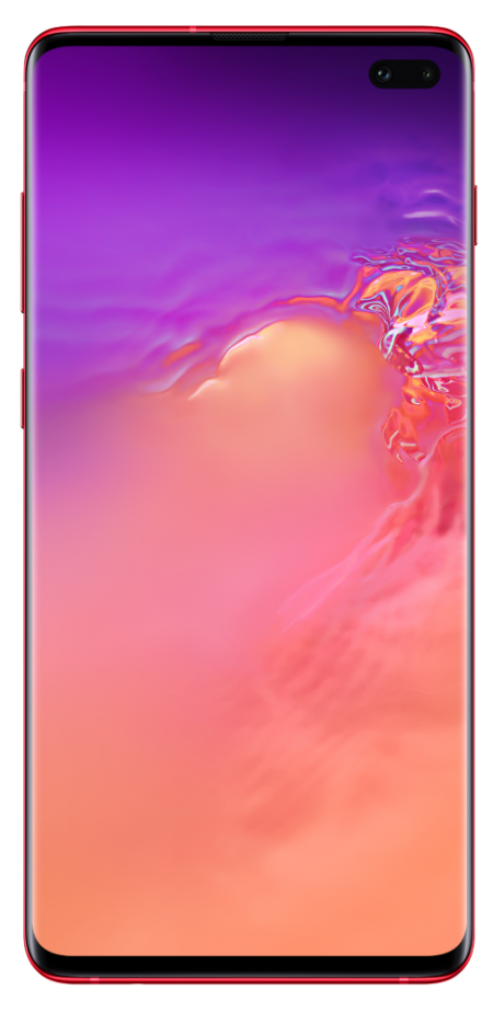 Samsung Galaxy S10 plus կարմիր