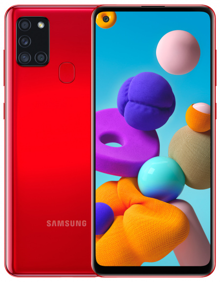 Samsung Galaxy A21s 32GB Կարմիր