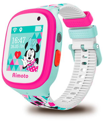 "Aimoto Smart Watch GPS Dsney ""Minnie"""