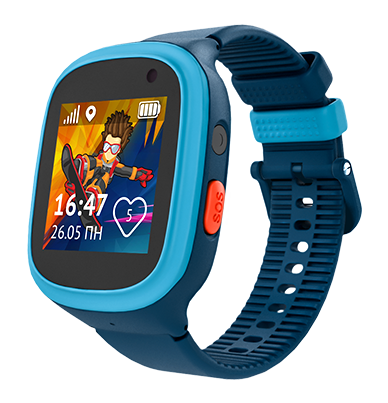 "Aimoto Tracker GPS IP67 ""Ocean"" Blue"