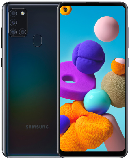 Samsung Galaxy A21s 64GB Սև